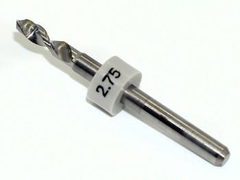 2.75 Rimless Drill Bit