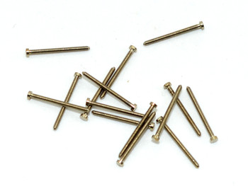 SM619 Rimless Screw No-Slot; 1.2mm Thread, 2.0mm Head, 15mm Length (SM619)
