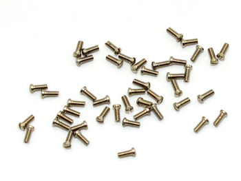 SM078 Eyewire Screw - Slotted; 1.4mm Thread, 2.0mm Head, 4.0mm Length