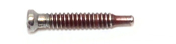 ST403 Self-Tapping Screw; 1.4mm Thread, 1.90mm Head, 9.6mm Length, Silver Finish  Application: Select the screw size to match the thread of the screw to be replaced for example if the thread is M1.4, the most common size, use an M1.4 or M1.3 threaded screw, the screw tip should   go into the first two barrels of hinge then screw it in until the head is seated on top of the hinge.  The extra portion extending out the bottom of the hinge should be removed by either cutting off, recommended tools TS423 screw cutter, or hold the hinge with two fingers one on each side the of the hinge us a needle pliers or Gripper pliers, TS408, twist the extended portion back and forth until it breaks off just below the bottom thread if needed file smooth Mix-N-Match Discount: Buy 3 or more vials of screws (fasteners) get 15% off buy 10 or more get 25% off
