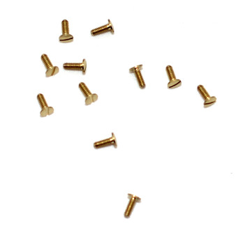 SA159 US Hinge Screw; 1.27mm Thread, 2.5mm Head, 4.00mm Length