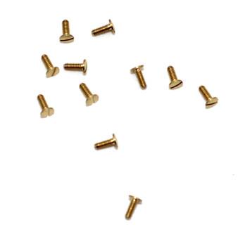 SA159 US Hinge Screw; 1.27mm Thread, 2.5mm Head, 4.00mm Length