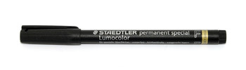 Staedtler Lens Marking Pen, Black