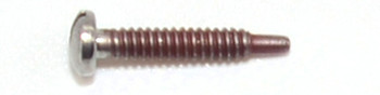 ST406 Self-Tapping Screw; 1.4mm Thread, 2.5mm Head, 9.6mm Length, Silver Finish