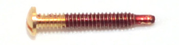 ST407 Self-Tapping Screw; 1.5mm Thread, 2.5mm Head, 9.6mm Length, Gold Finish