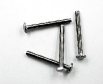 SM208 Rimless Screw Hex; 1.4mm Thread, 2.5mm Length, 12mm Length
