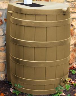 Khaki Rain Barrel