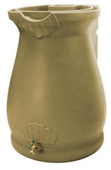 Rain Wizard Tuscan Urn Rain Barrel - 65 GAL - GOLDEN GRANITE
