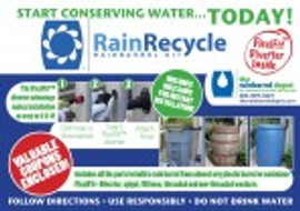RainRecycle Rain Barrel Kit Value Set -Three Kits