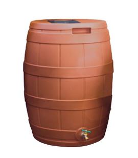 Rain Vault Rain Barrel - 50 GAL - TERRA COTTA