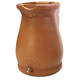 Rain Wizard Tuscan Urn Rain Barrel - 65 GAL -  TERRA COTTA
