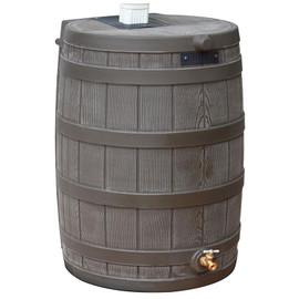50 Gallon Rain Wizard Flat Back Barrel
