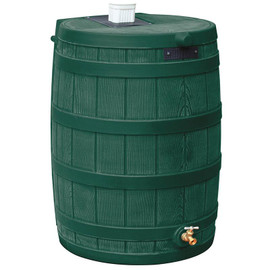 40 Gallon Rain Wizard Flat Back Barrel