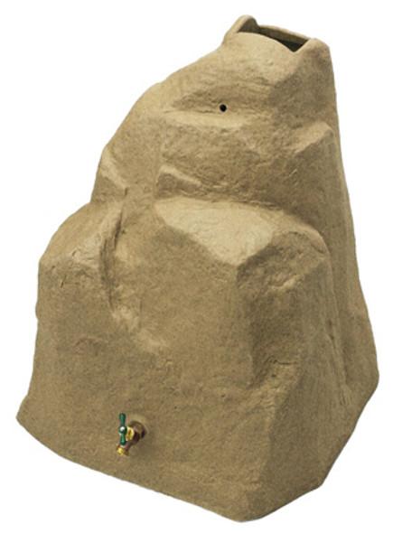 42 Gallon - Good Ideas Rain Wizard Rock - SANDSTONE