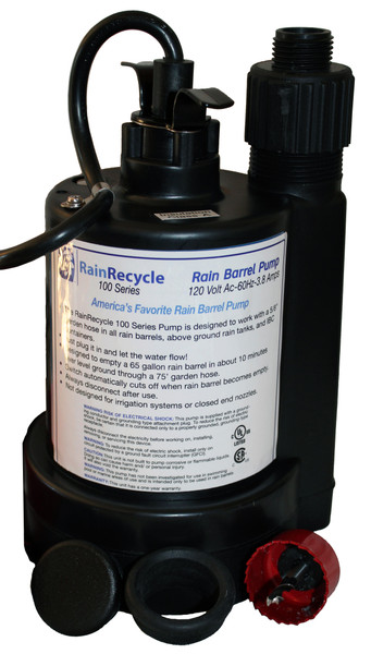 RainRecycle Rain Barrel Pump - EXCLUSIVE