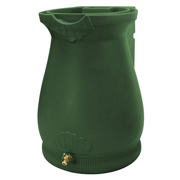 65 Gallon Rain Wizard Tuscan Urn Rain Barrel