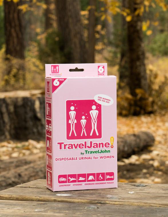 TravelJane Disposable Urinal for Women  Model: TJ1R