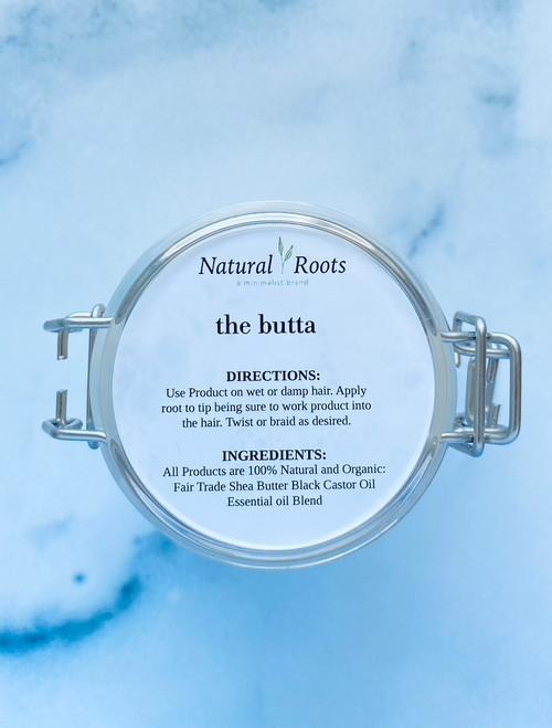 Natural Roots 'The Butta' Shea Butter Black Castor Oil Blend