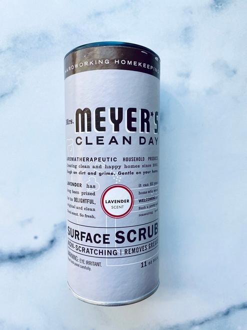 Mrs. Meyer's Clean Day Surface Scrub - Lavender. 11 oz.