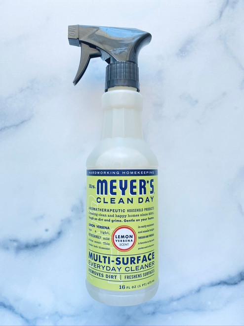 Mrs. Meyer's Clean Day Multi-Surface Everyday Cleaner, Lemon Verbena - 16oz