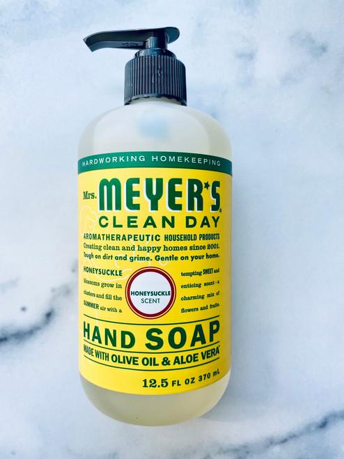 Mrs. Meyer's Clean Day Hand Soap - Honeysuckle - 12.5oz