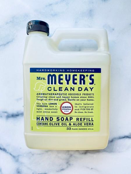 Mrs. Meyer's Lemon Verbena Liquid Hand Soap refill