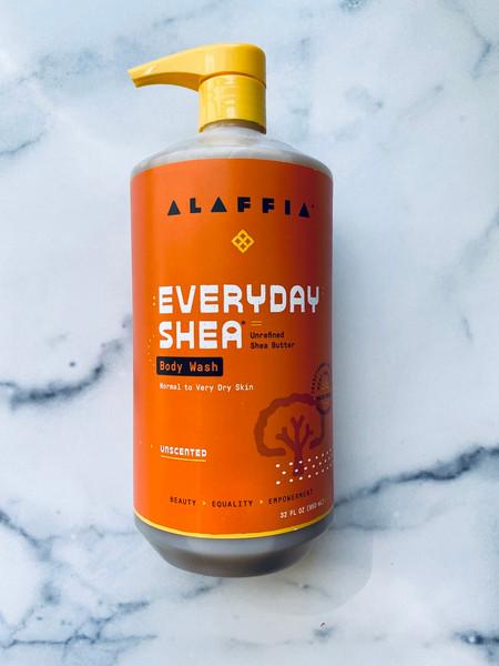 Alaffia Everyday Shea Body Wash - Unscented - 32oz