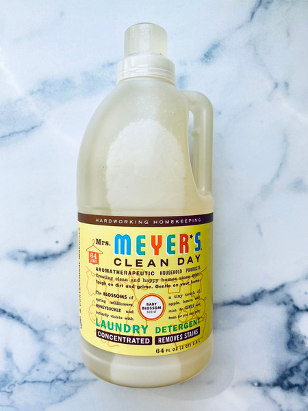 Mrs. Meyer's Clean Day, 2X Laundry Detergent - Baby Blossom - 64 oz