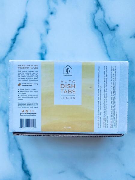 PUR Home Auto DishTabs - Lemon