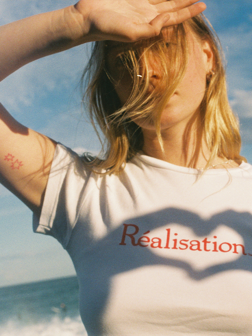 Realisation Logo Tee - White