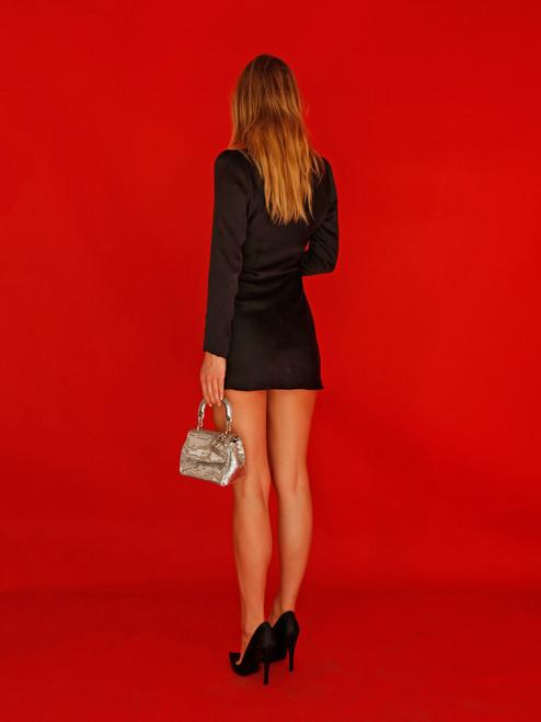 Dream girl, Alexandra, wearing the Rainey CNY @4thandbleeker
