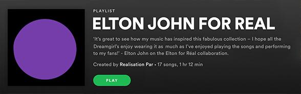 Elton John For Real