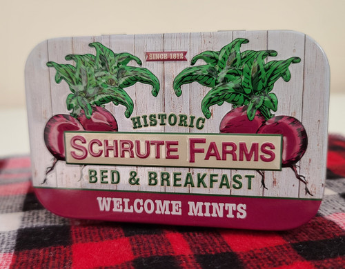 Schrute Farms Welcome Mints