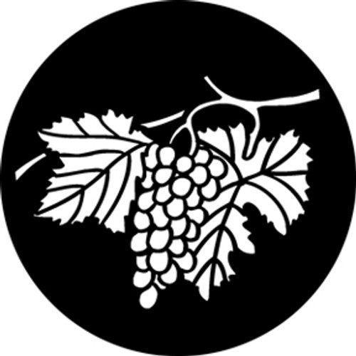 Rosco Standard Steel Gobo 76578 - Hanging Grapes