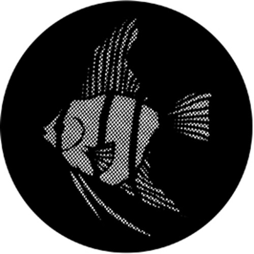 Rosco Standard Steel Gobo 77612 - Meshed Angel Fish
