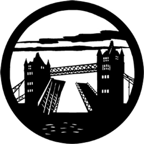 Rosco Standard Steel Gobo 77815 - Tower Bridge