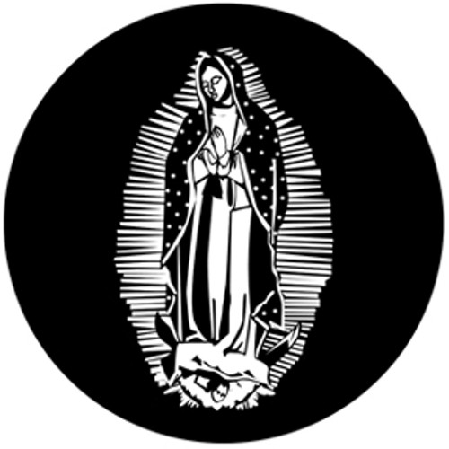 Rosco Standard Steel Gobo 78516 - Lady of Guadalupe