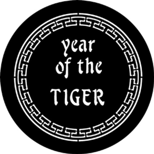Rosco Standard Steel Gobo 77652 - Year Of The Tiger