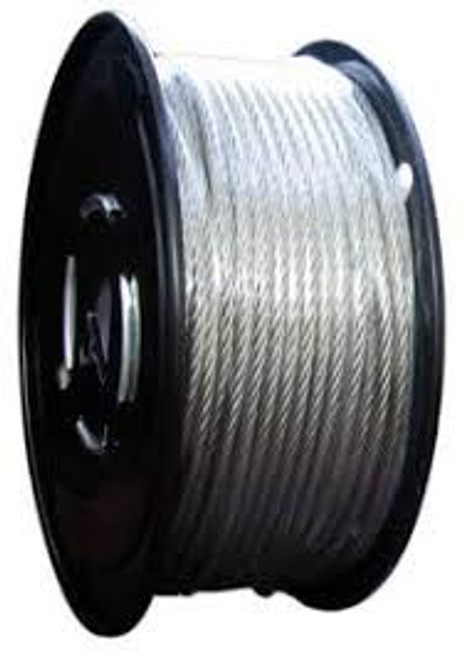 "1/8"" Galvanized Aircraft Cable"