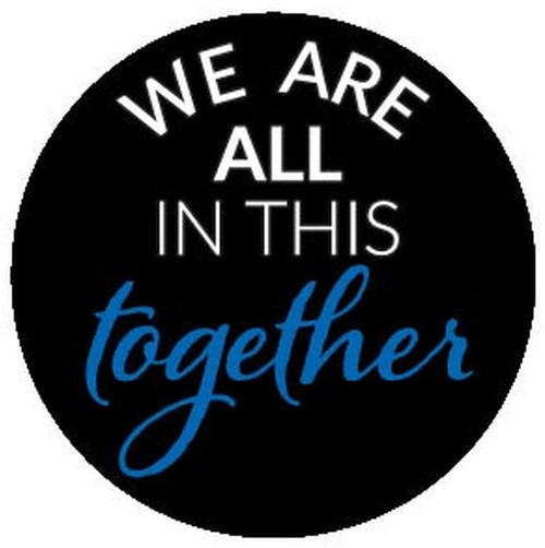 Rosco 2-Color Glass Gobo RHealth#23 We Are All In This Together