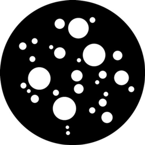 GAM Standard Steel Gobo 599 - Small Dots