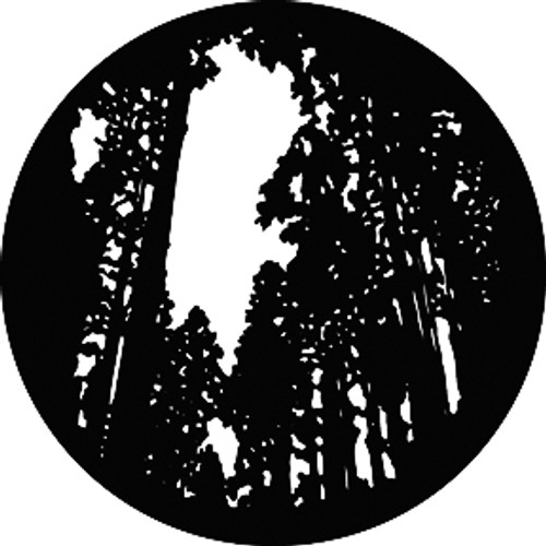 GAM Standard Steel Gobo 309 - Tall Trees