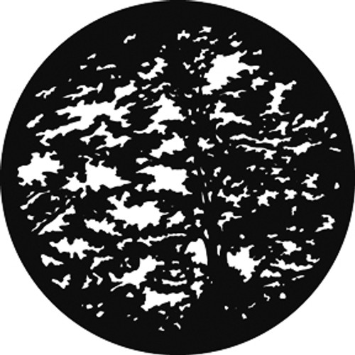 GAM Standard Steel Gobo 545 - Giant Trees