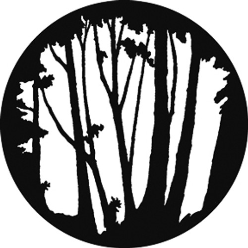 GAM Standard Steel Gobo 657 - Mixed Trees