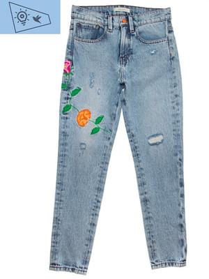 Jeans bordado Nök Bon