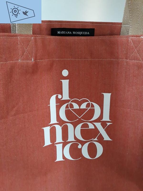 """I Feel Mexico""  bag Mariana Mosqueda"