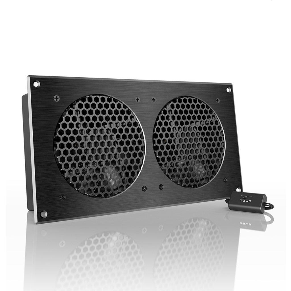 airplate s7 home theater and av quiet cabinet cooling fan system