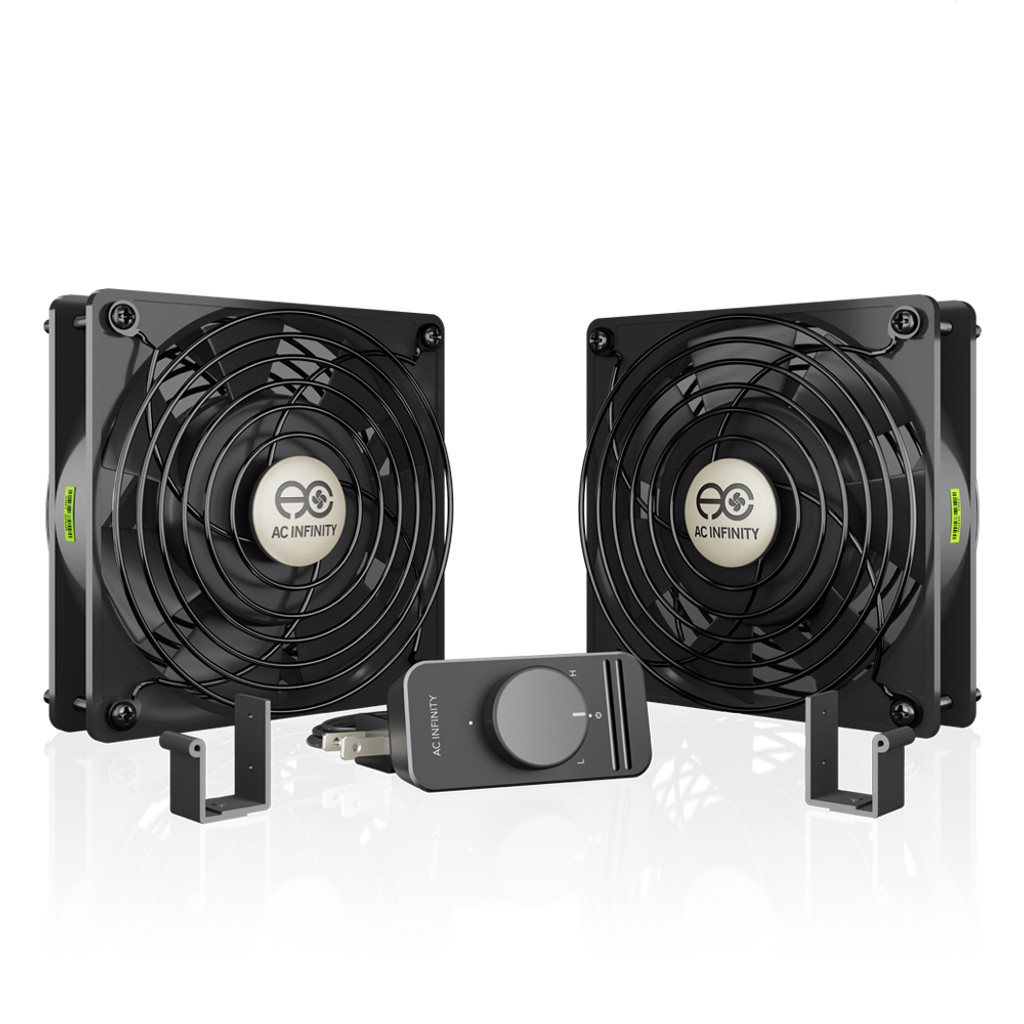 Axial Cooling Exhaust 110V by 125V 4-feet Pw Axial Cooling Fan Computer AC 1238