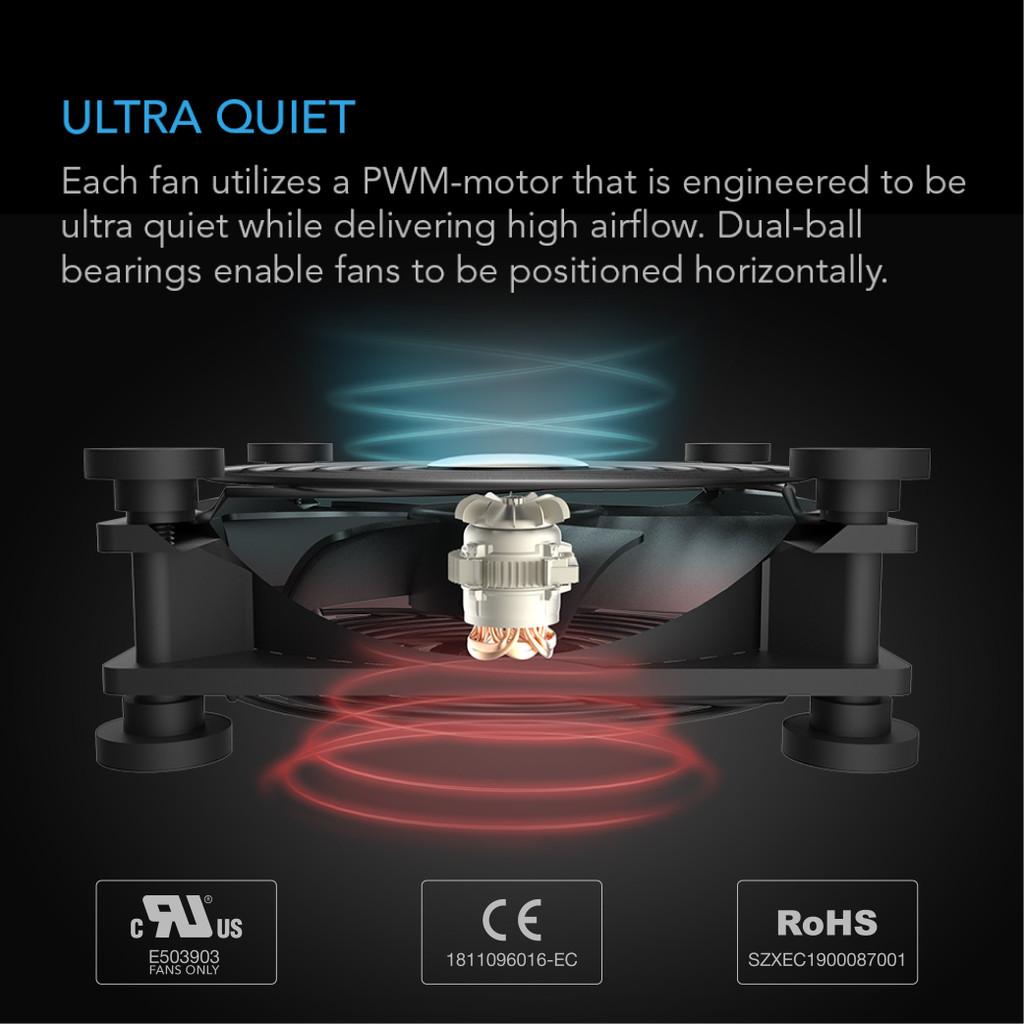 80mm Quiet USB Fan