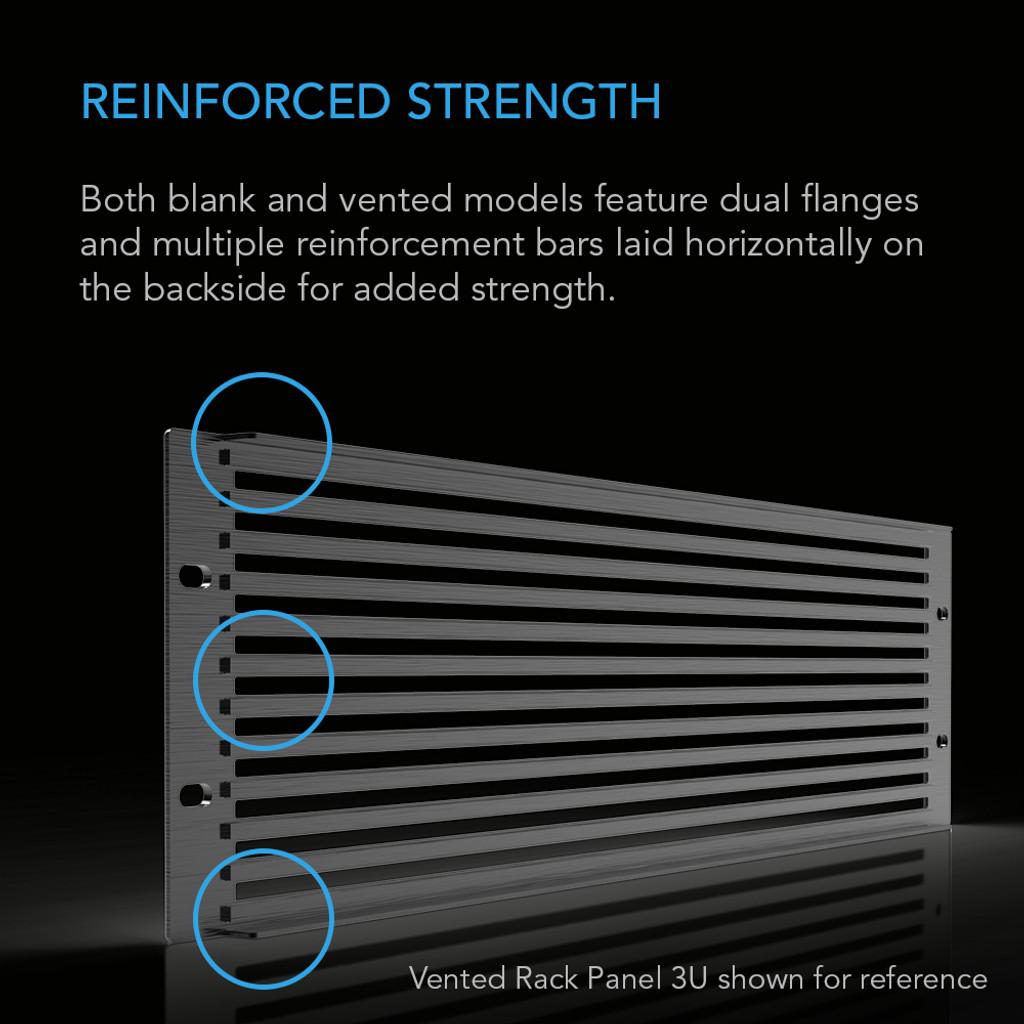 Rack Panel 2U Blank